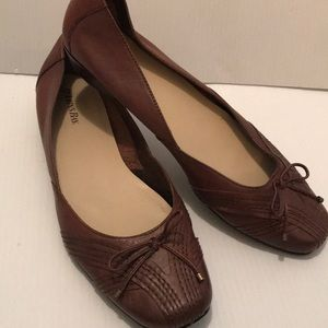 St John's Bay Womens Brown Loafers
